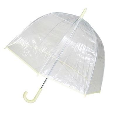 Conch Umbrellas 1265AXYellow Bubble Clear Umbrella, Dome Shape Clear Umbrella - Personal Care #clearumbrella