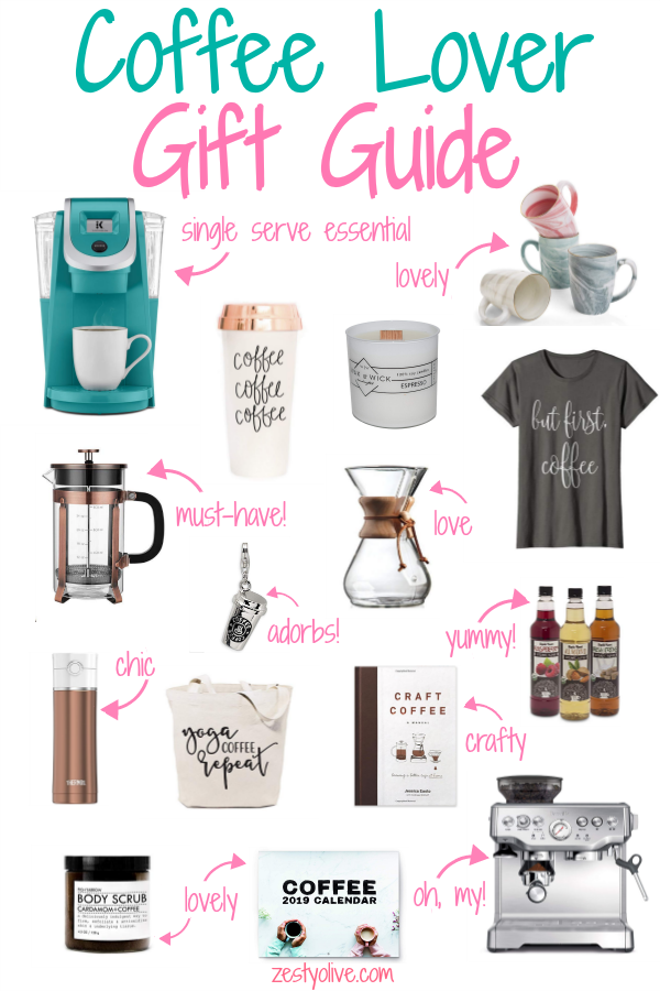 Coffee Lovers Gift Guide * Zesty Olive - Simple, Tasty, and Healthy Recipes