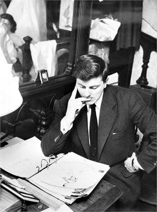 Ninotchka | bowlersandhighcollars:   Hubert de Givenchy at...