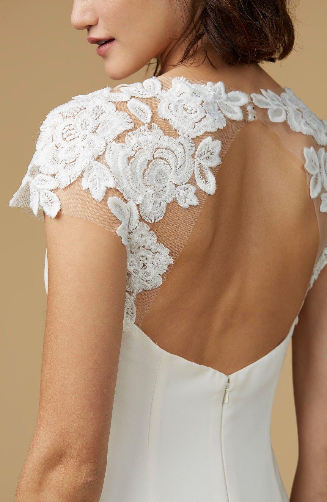 Mother of the bride wedding dresses nordstrom  Amanda Mermaid Gown  Mermaid gown Amanda and Mermaid