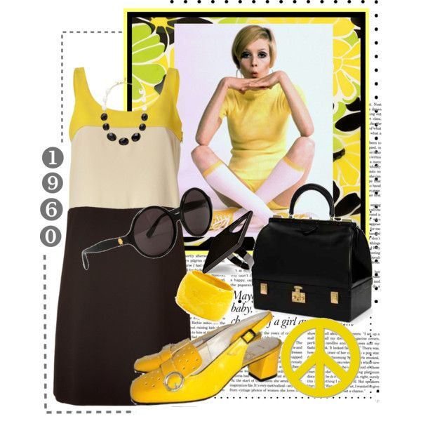 """""""1960's"""" by tracireuer on Polyvore"""
