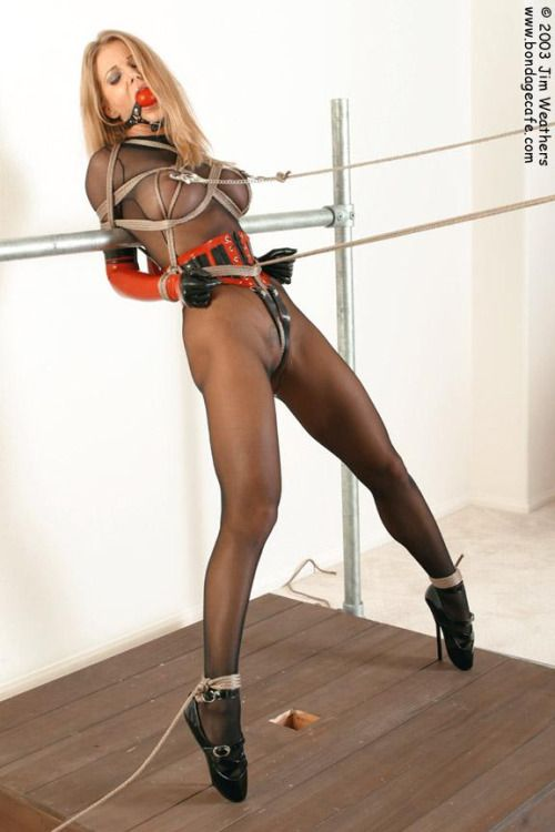 bondage rope Heels and