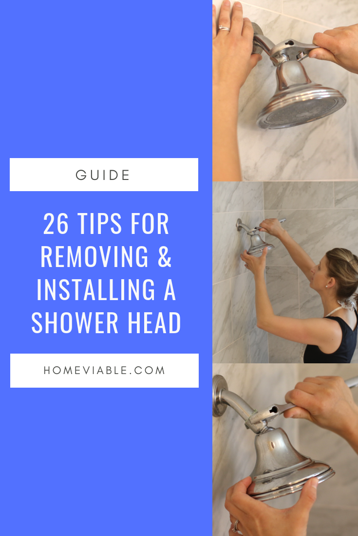 Here S How To Replace That Old Showerhead Shower Heads Bathroom