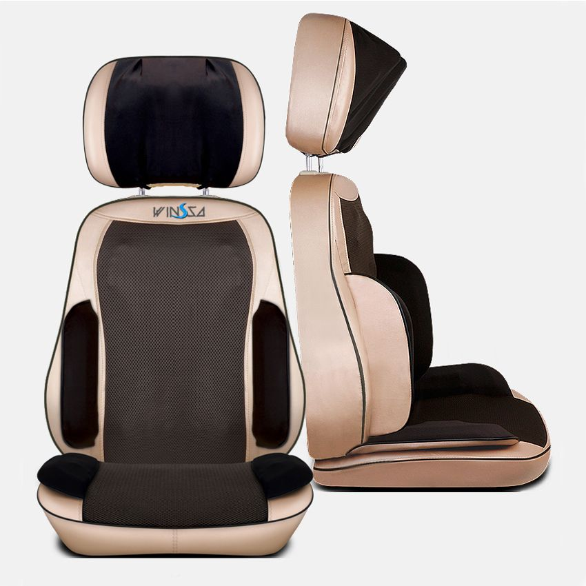 Best Car Home Seat Full Body Office Chair Pad With Air Massage Comfort Heated Electric Back Portable Kneading Cushion