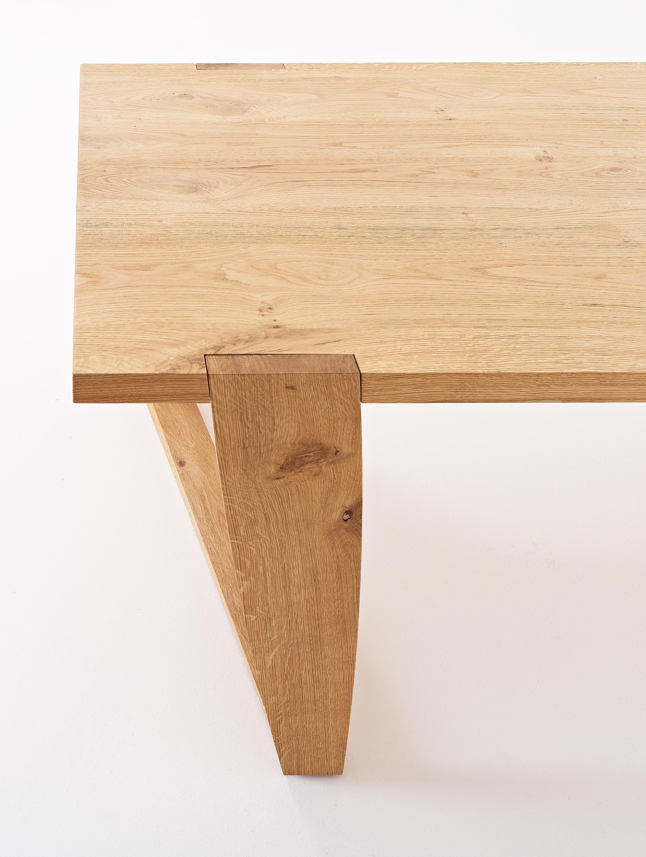 Tavolo da pranzo rettangolare in legno MAD by Colico design