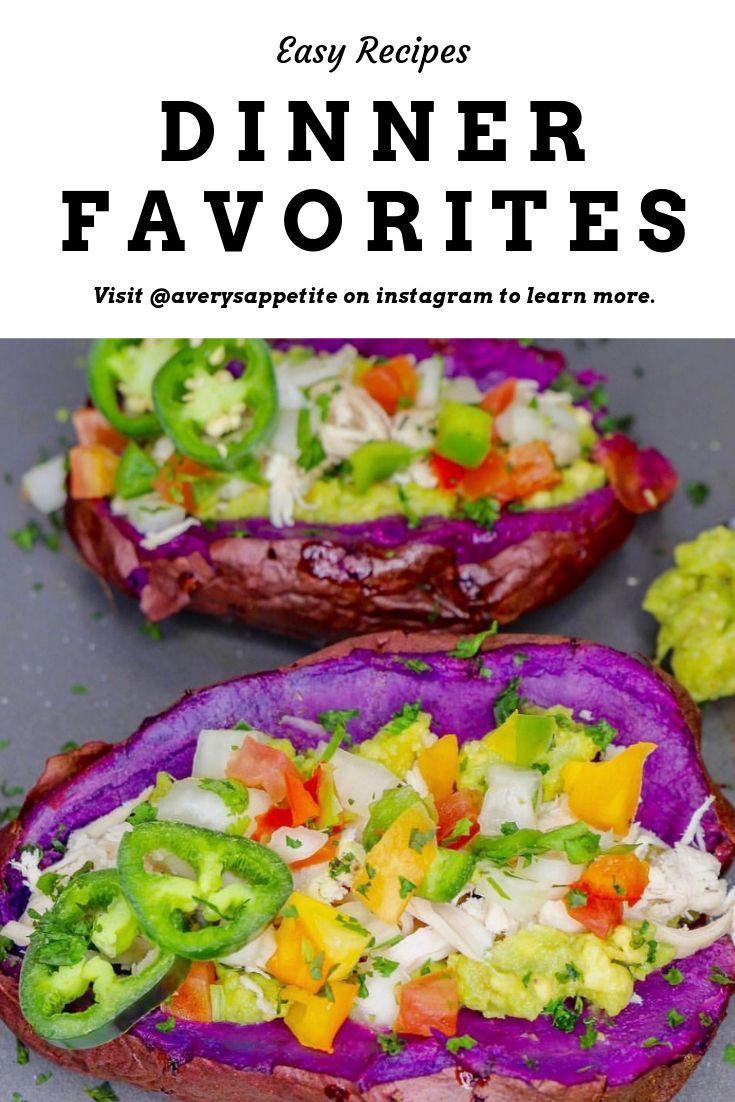#dinnerrecipes #dinnerfavorites #easydinner #easydinnerrecipesforfamily #cheapdinners #recipes #easyrecipes #sweetpotatorecipes #purplepotatoes #southwestrecipes #lunchrecipes