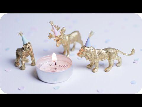 Kleine geschenke selber machen kerze mit geheimbotschaft diy geschenkideen chestnut - Last minute ostergeschenke ...
