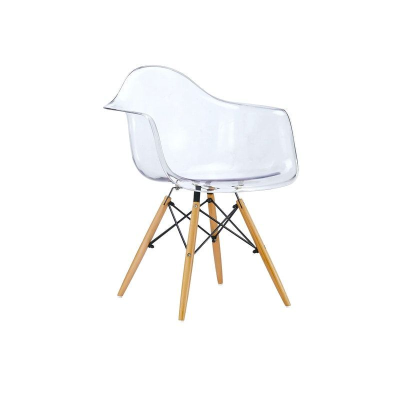 Giving Your Bedroom A Scandinavian Makeover: Natural, Clear#chair #clear #daw #natural In