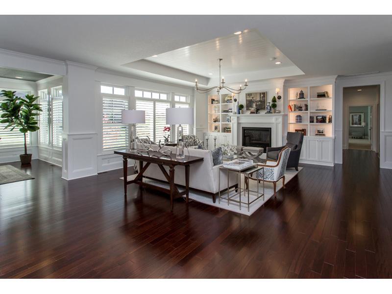 Plan 051D0960 Beautiful ceiling design designates the