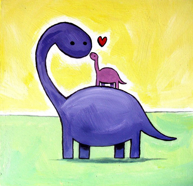 Cute Dinosaur Painting Google Search Cute Paintings