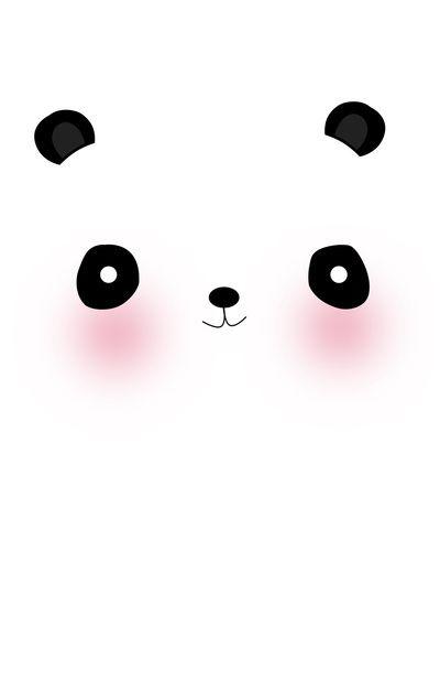 cute panda art - Google Search on We Heart It