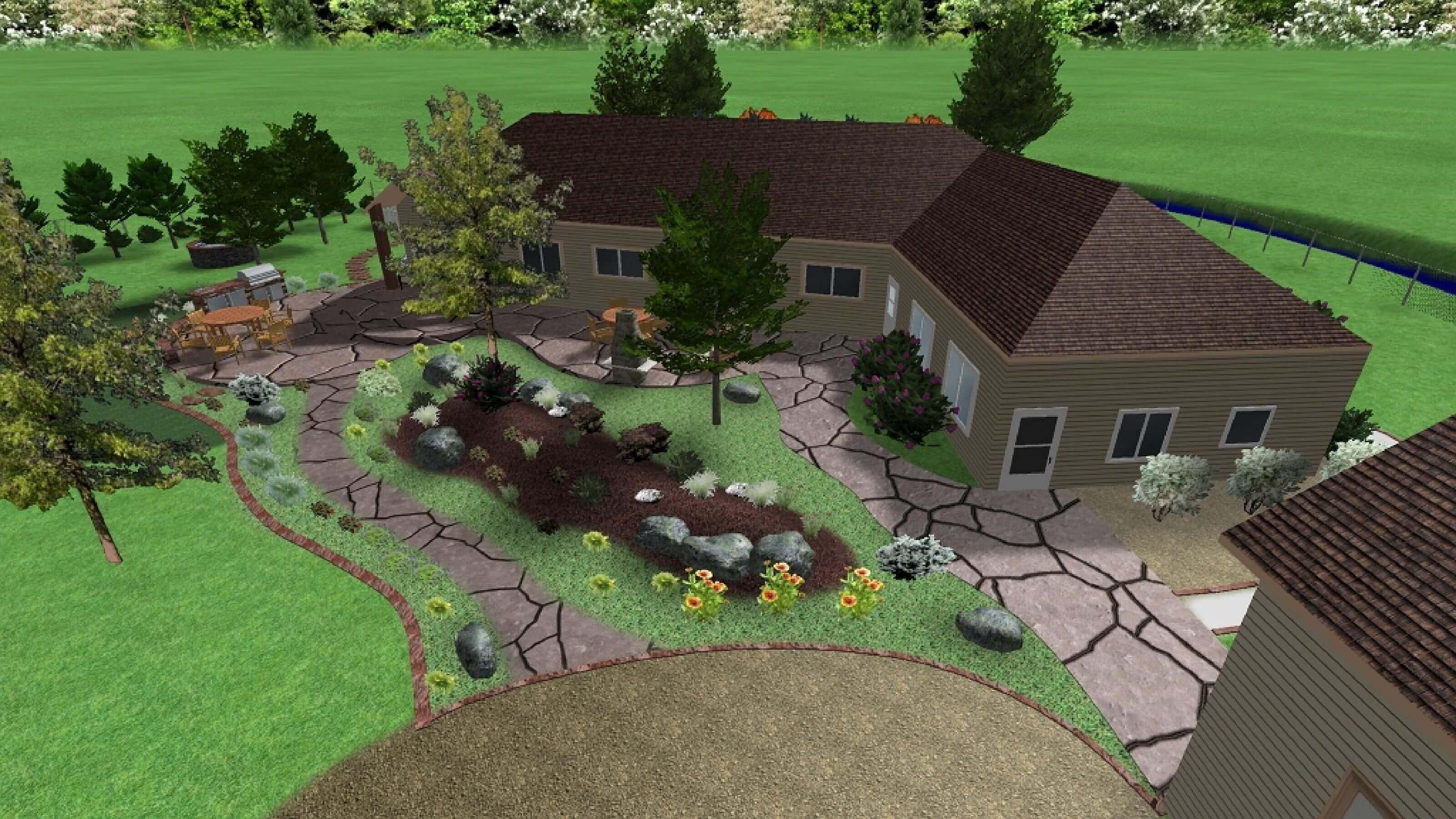 Pin By Online Landscape Designs On Landscape Designs Landscape Design Services Landscape Design Online Landscape Design
