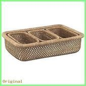 basket and crate Low mesh basket in baskets | Crate and barrel #b – christina