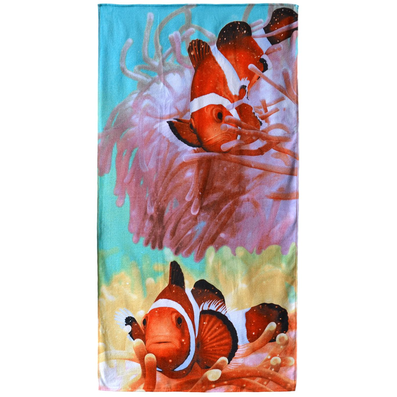Two Clownfish color 30-inch x 60-inch Beach Towel | Products ...