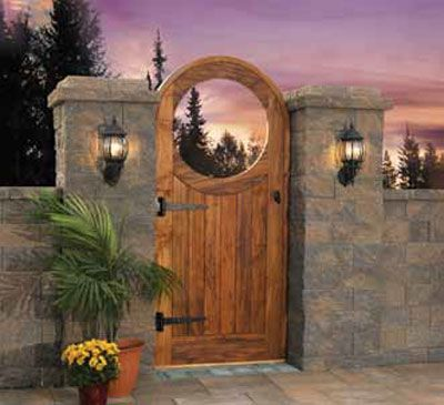 This Cambridge Garden Gate Kit Is Specially Designed For Exterior