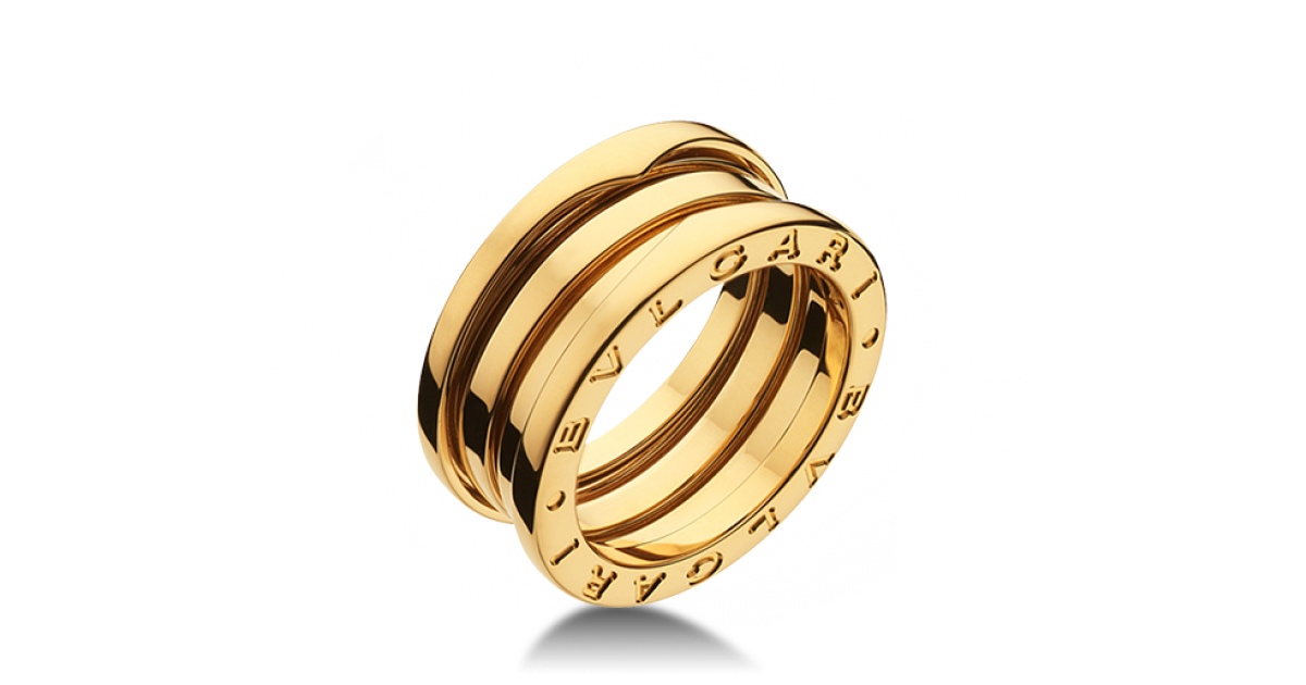 B.zero1 Yellow Gold Rings AN191023 - Discover BVLGARI s Italian jewelry and  other luxury goods 698c6203992
