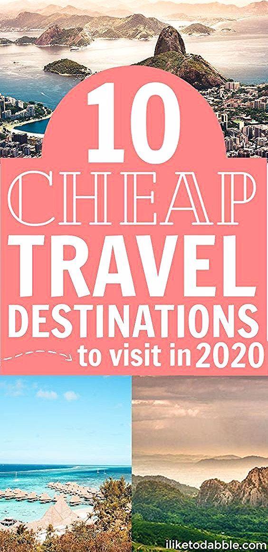 Günstige Reiseziele für 2020. Günstige internationale Ziele. Budget Reisetipps. Sparen Sie Geld bei Reisen. Reise-Hacking. #cheaptravel #budgettravel #travelhacking #dis #für #günstige #Reiseziele #travel tips international