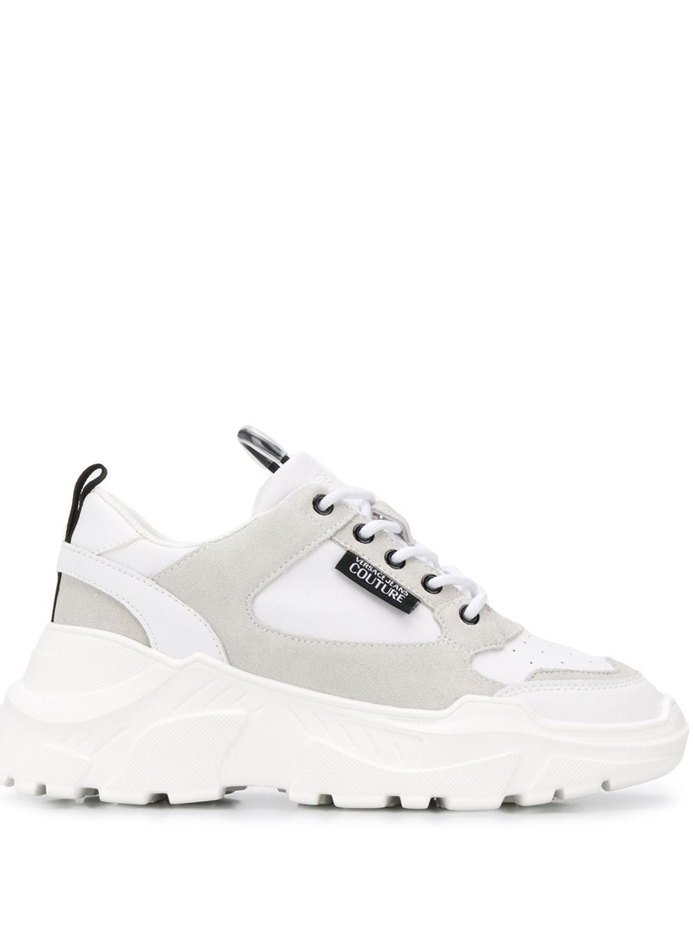 Versace Jeans Couture Chunky Sole Low Top Sneakers Farfetch Sneakers Sketchers Shoes Women Versace Sneakers