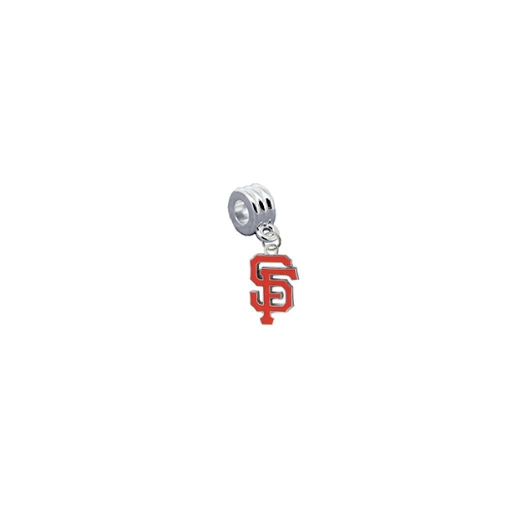 San Francisco Giants Universal European Bracelet Charm Fits Pandora, Troll, Biagi, Chamilia & More -- Awesome products selected by Anna Churchill