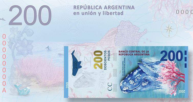 LOW NUMBER ARGENTINA BANKNOTE 1000 Pesos P.New UNC 2017 Hornero