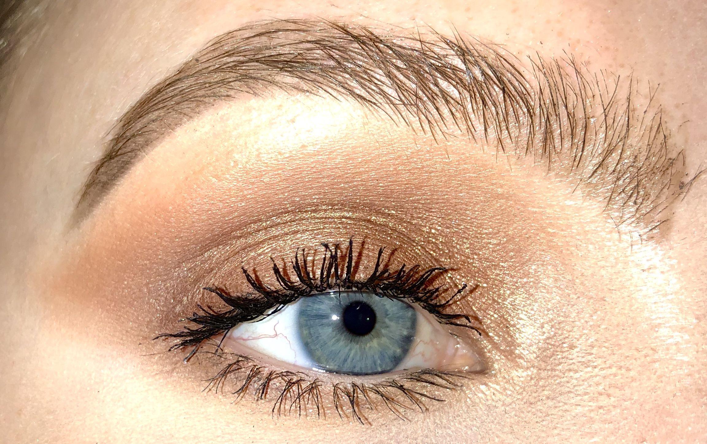 Cool Toned Bronze Smokey Eye Makeup Bronze Smokey Eye Smokey
