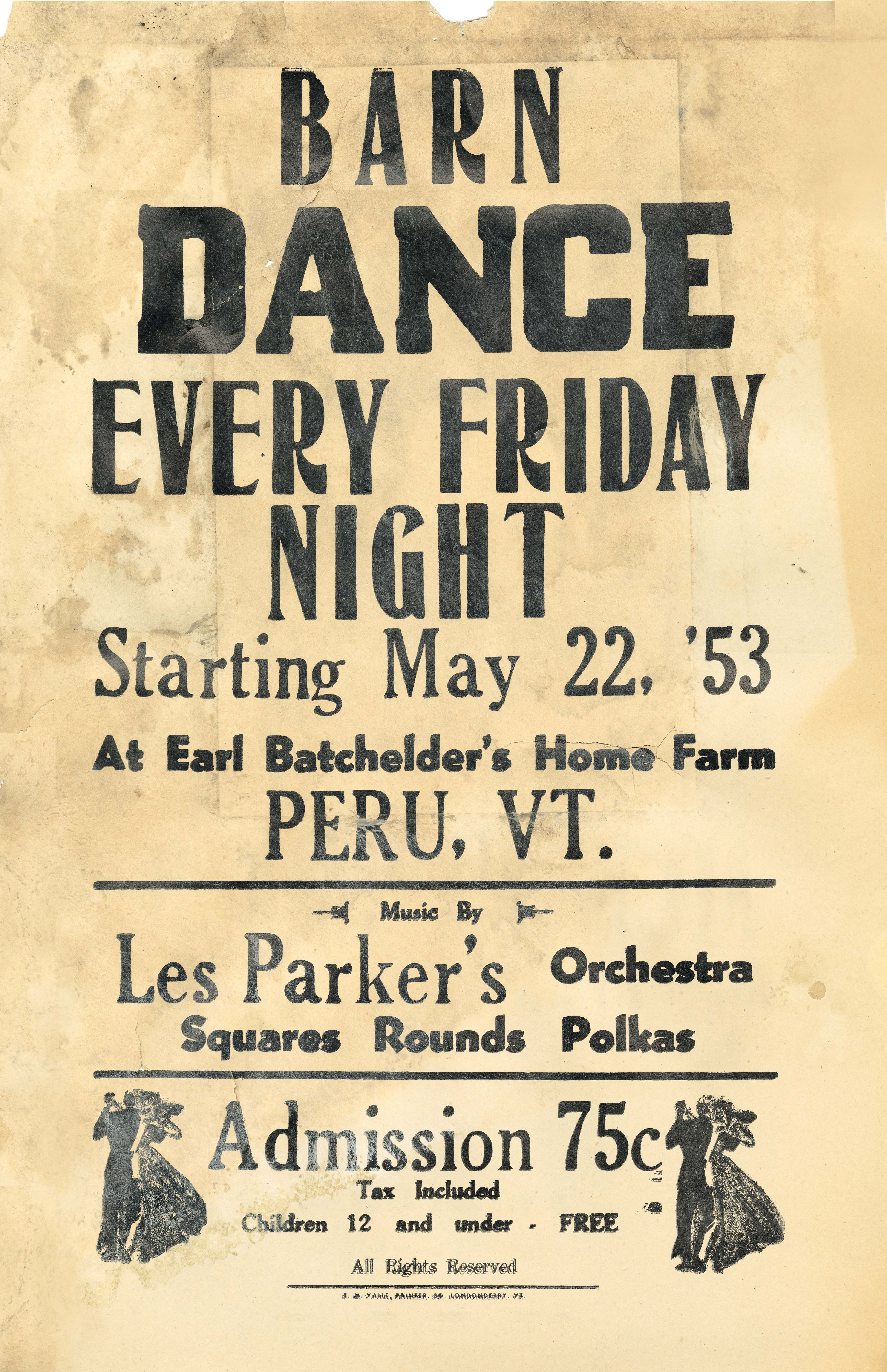 Barn Dance Flyer From Have You Ever Attended An Old