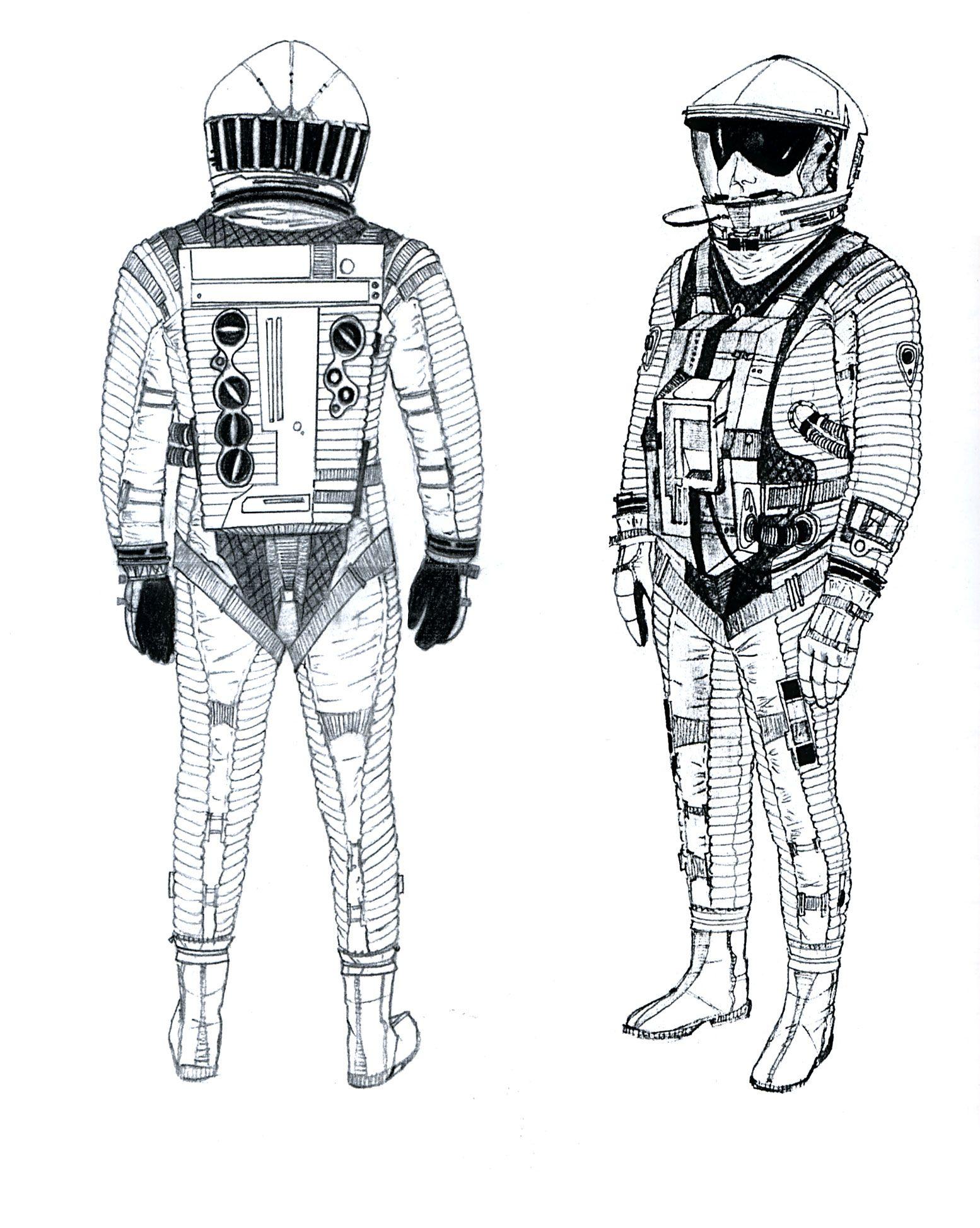 retro space suits - photo #6