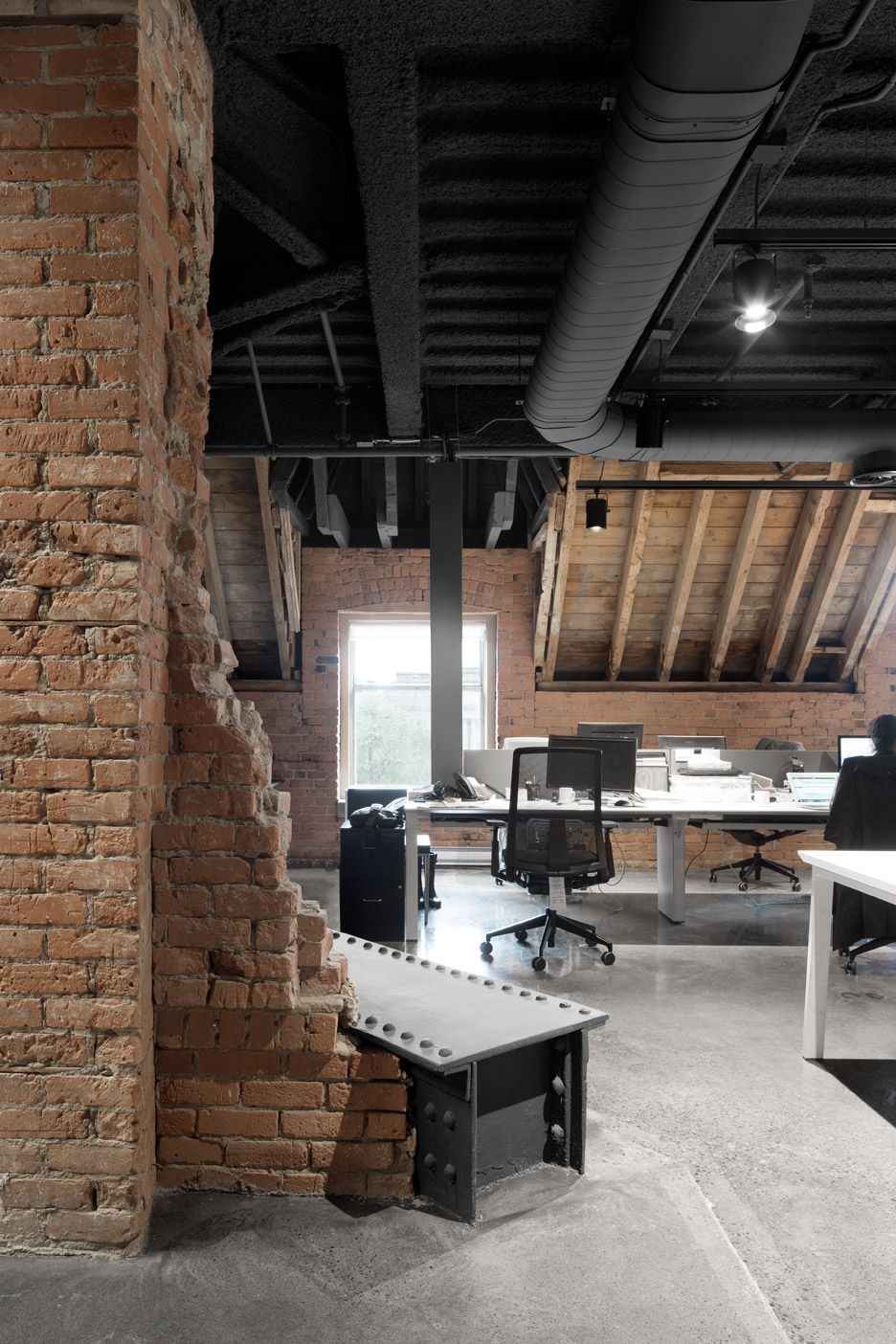 Abandoned station and hotel converted into Lightspeed headquarters by ACDF Architecture