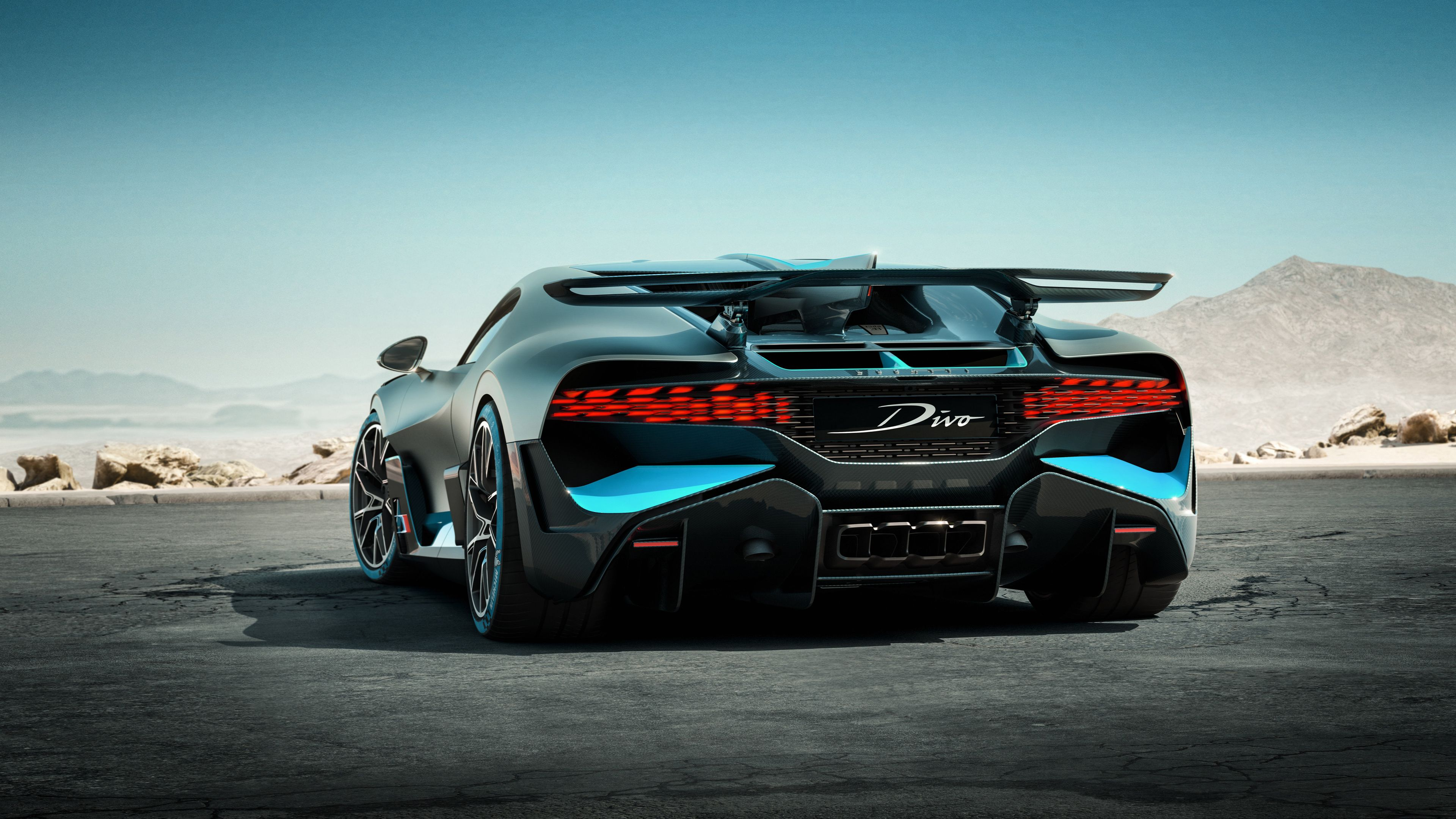 Wallpaper 4k 2018 Bugatti Divo Rear 2018 Cars Wallpapers 4k
