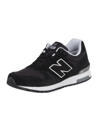 NEW BALANCE Sneaker mit Logo-Applikation in Schwarz