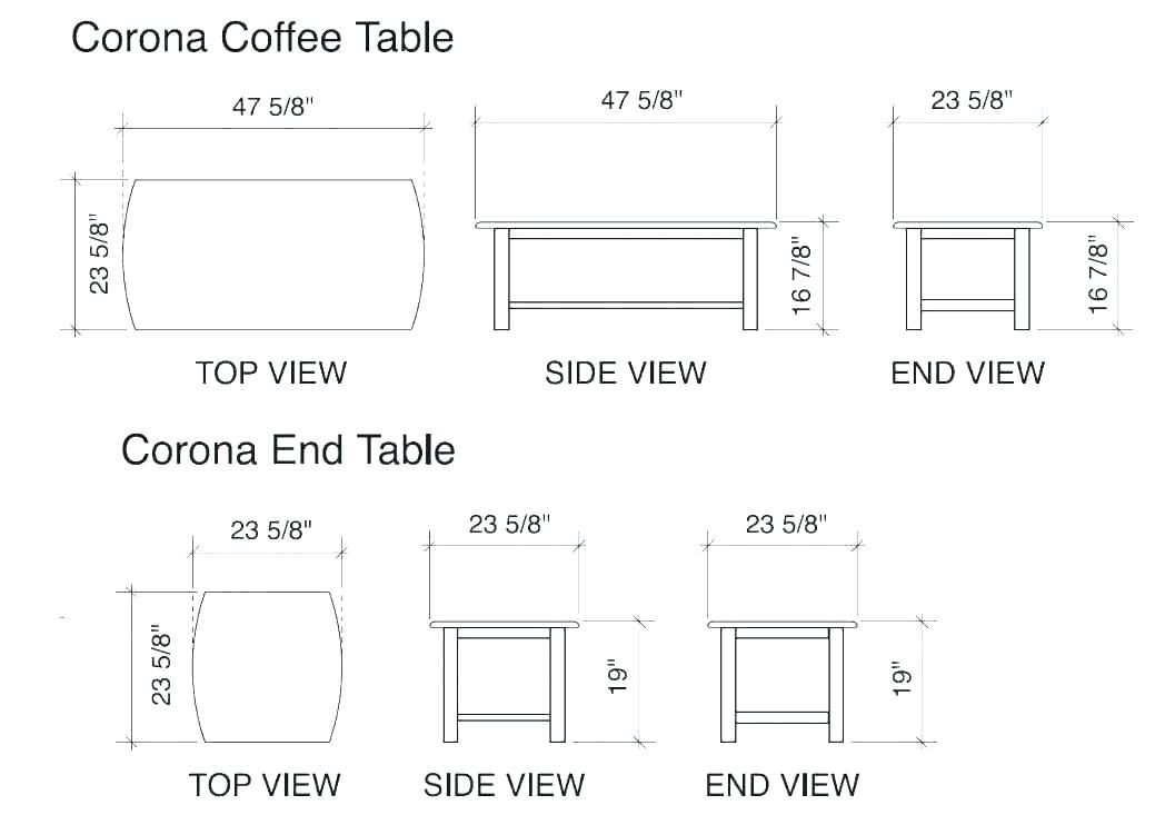 Average Coffee Table Size Cm Coffee Table Height Coffee Table Size Coffee Table Measurements