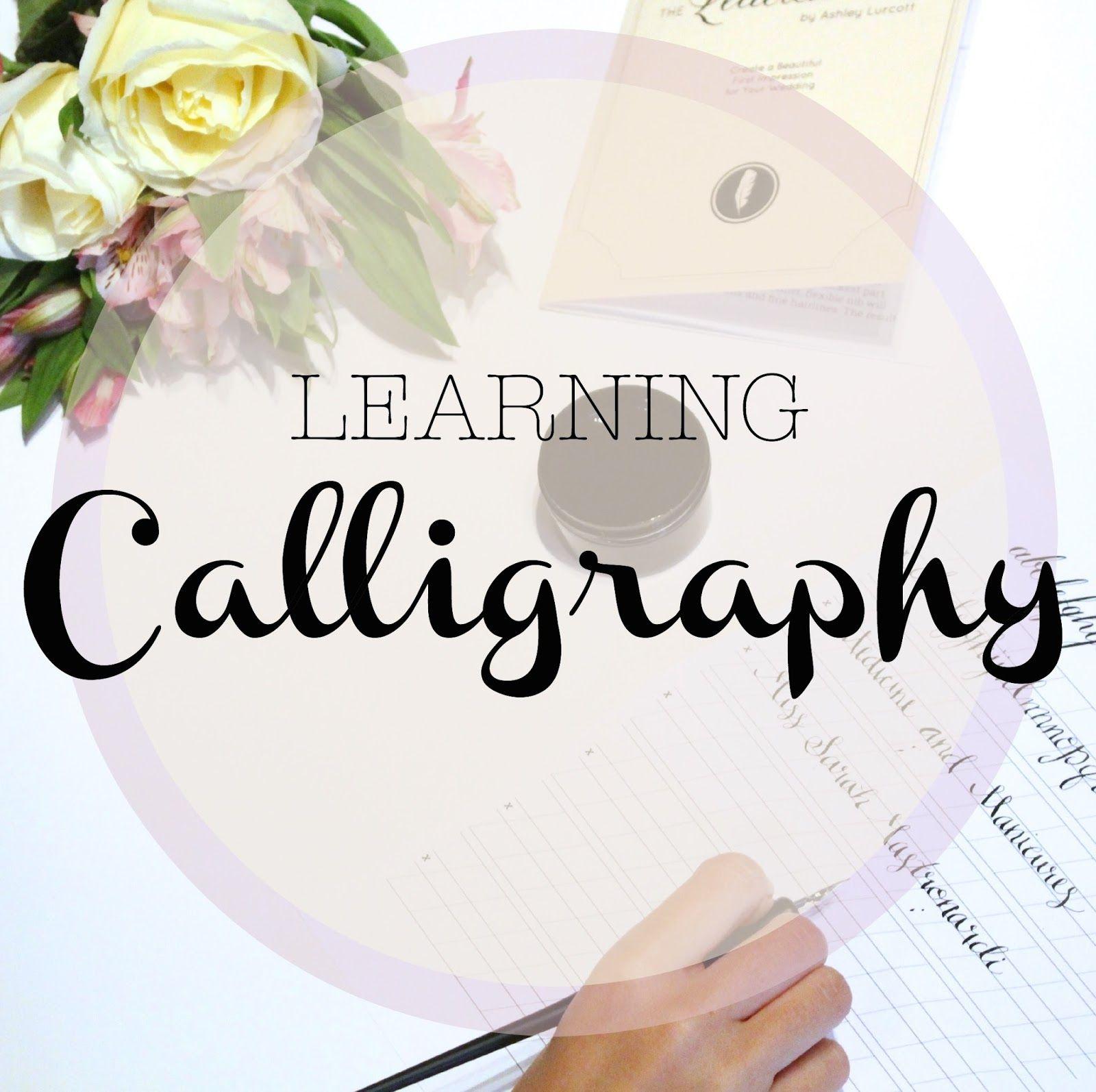 Wedding Wednesday Learning Calligraphy Windows 10