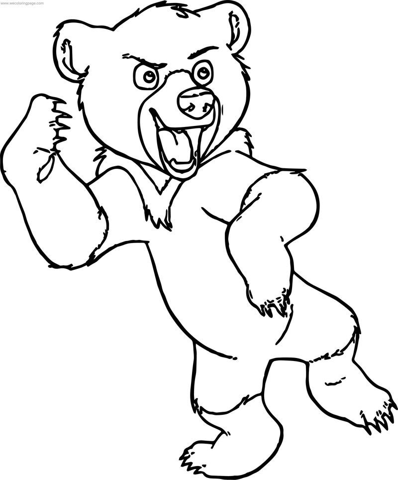 Disney Brother Bear Koda Coloring Pages Cartoon Coloring Pages Bear Coloring Pages Coloring Pages