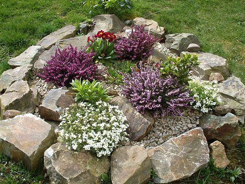 Small Garden Rockery Ideas Home Exterior Interior Design Ideas