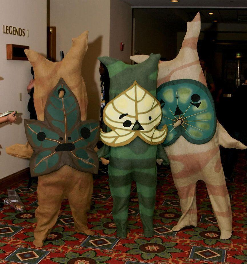 Breath of the Wild Mask Cosplay korok mask Handmade 2017 The Legend of Zelda