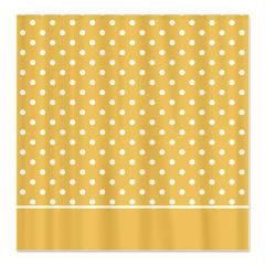 Golden with White Dots 2 Shower Curtain > White Dots > MarloDee Designs Shower Curtains