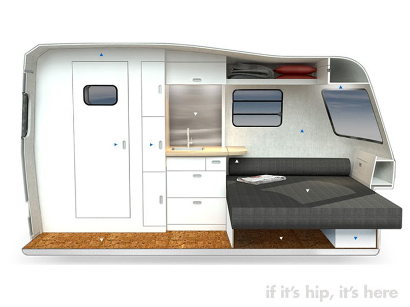 Wonderful The Nest Was Originally Born Out Of Nest Caravans, Which Airstream Purchased In 2016 And Has  It Will Be Able To Be Towed By Midsize SUVs And Crossovers Without Jacking Up Fuel Costs Or Sacrificing Driving Abilities While No Pricing