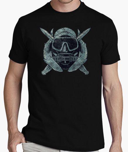 Camiseta Vintage Insignia US Combat Diver