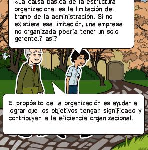 La Causa Básica De La Estructura Organizacional Es La