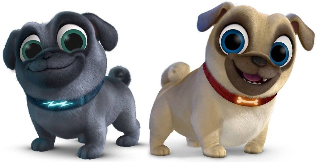 Pin By Leilani Wrobel On Puppy Dog Party Pug Cartoon Dog Party Puppies