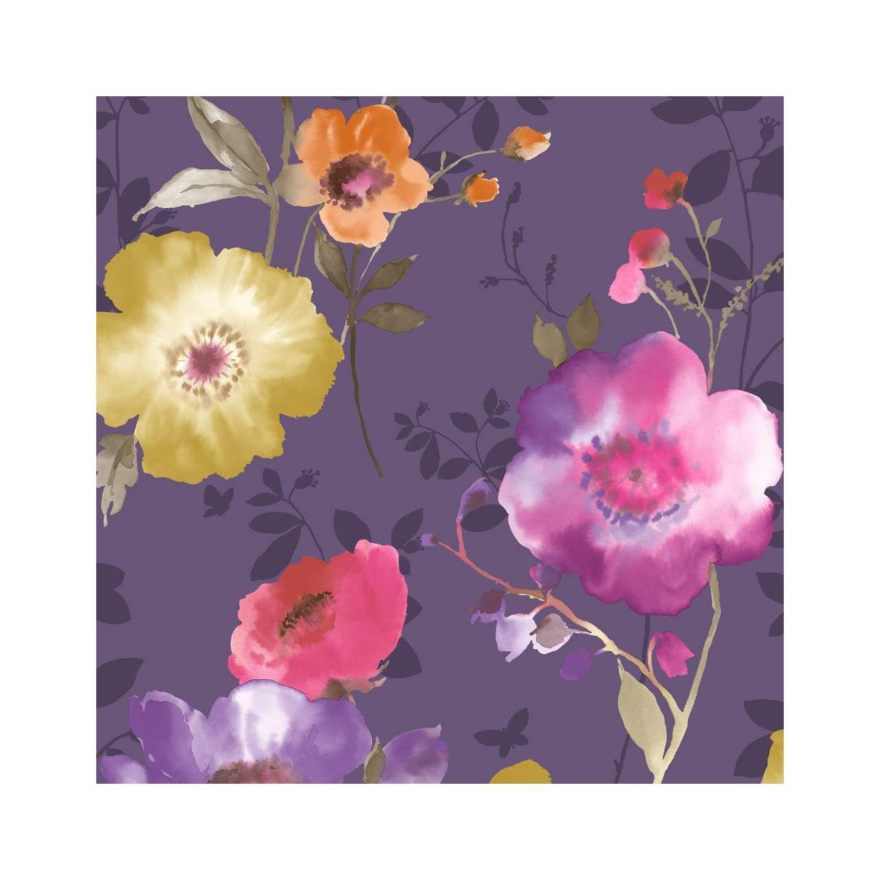 Vymura Delicia Purple Wallpaper