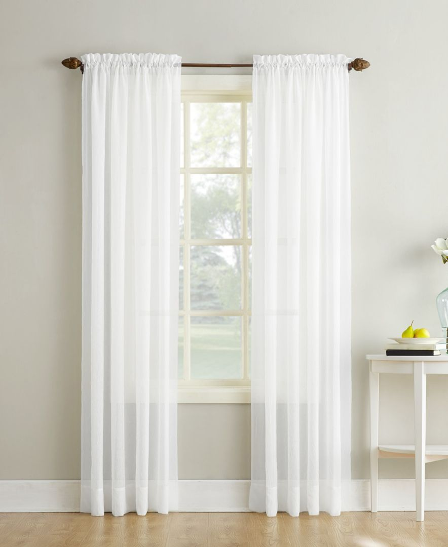 HEMNES BEDROOM. Love the curtain and the duvet cover with lace ...