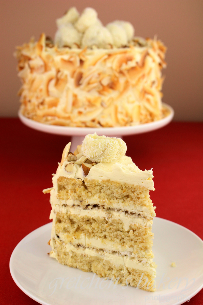Vegan Coconut Almond Cake Raffaello Gretchen S Vegan Bakery Recipe Almond Cakes Coconut Almond Vegan Bakery