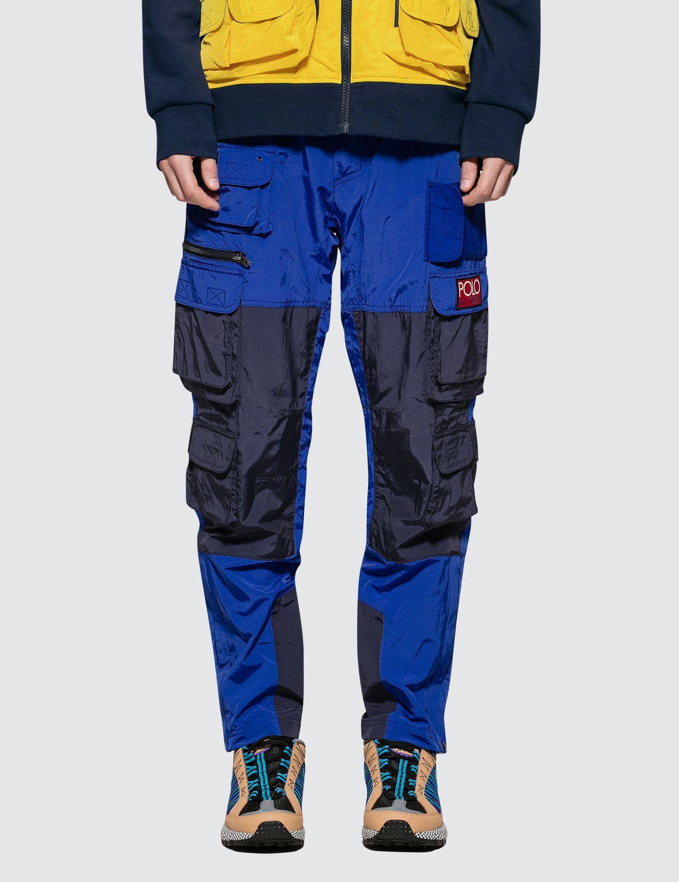 Hi tech pant polo ralph lauren pants mens sweatpants