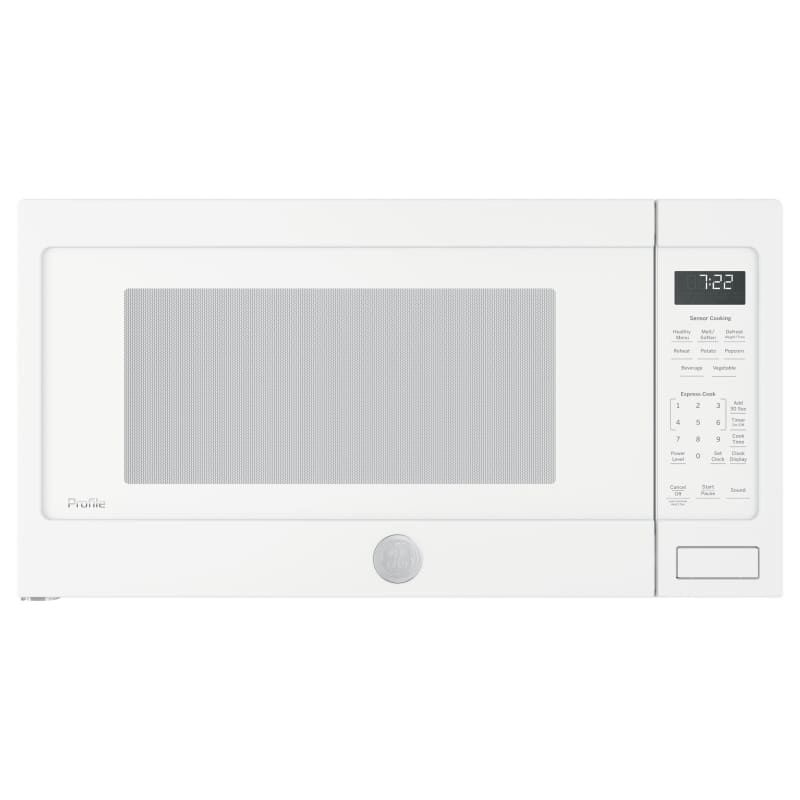 Ge Pes7227 24 Inch Wide 2 2 Cu Ft 1650 Watt Countertop Microwave