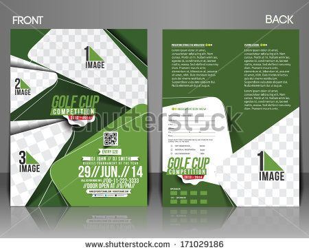 golf tournament flyer layout idea golf tournament Pinterest - golf tournament flyer template