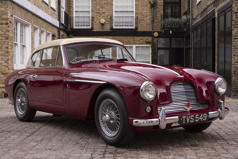 1955 Aston Martin Db2 4 Mk Ii Notchback By Tickford Hexagon Aston Martin Db2 Aston Martin Cars For Sale