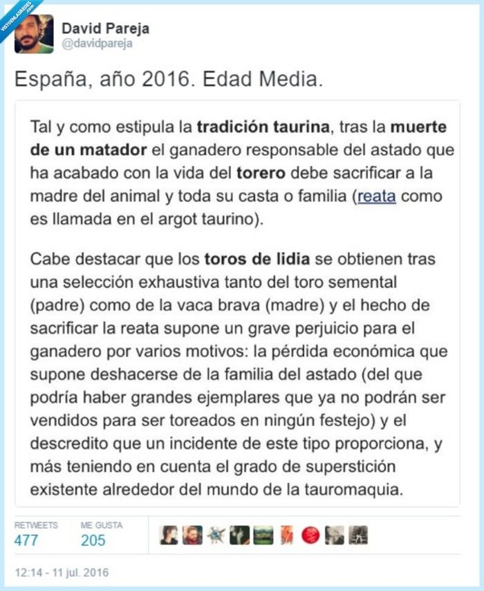 Esto es España o la Edad Media   Gracias a http://www.vistoenlasredes.com/   Si quieres leer la noticia completa visita: http://www.estoy-aburrido.com/esto-es-espana-o-la-edad-media/