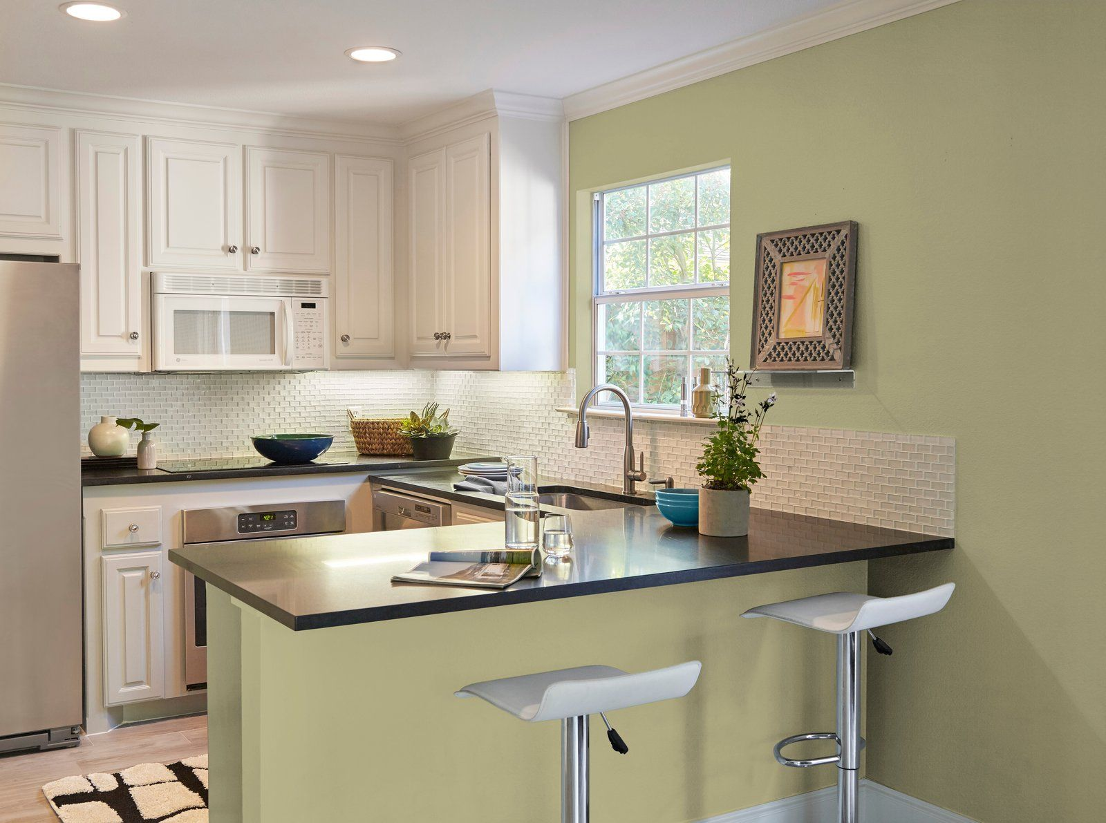 How To Use Behr's Color of the Year 2020 in 2020 Kitchen
