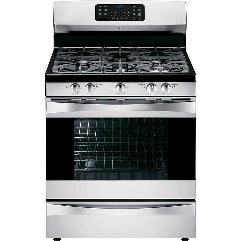 Kenmore Elite 75233 5.6 Cu. Ft. Gas Range W/ True Convection   Stainless